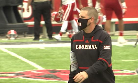 Ragin' Cajuns coach Billy Napier tests positive for COVID-19