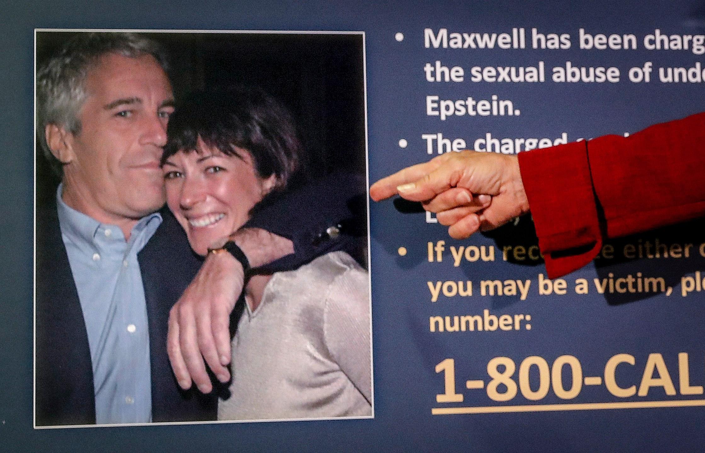 Jeffrey Epstein, Ghislaine Mawell