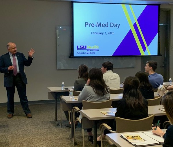 Interim LSU President Tom Galligan announced Monday that LSU will not require students to be vaccinated but that it is strongly encouraging all of them to do before returning to campus in the fall. Courtesy of LSU.
