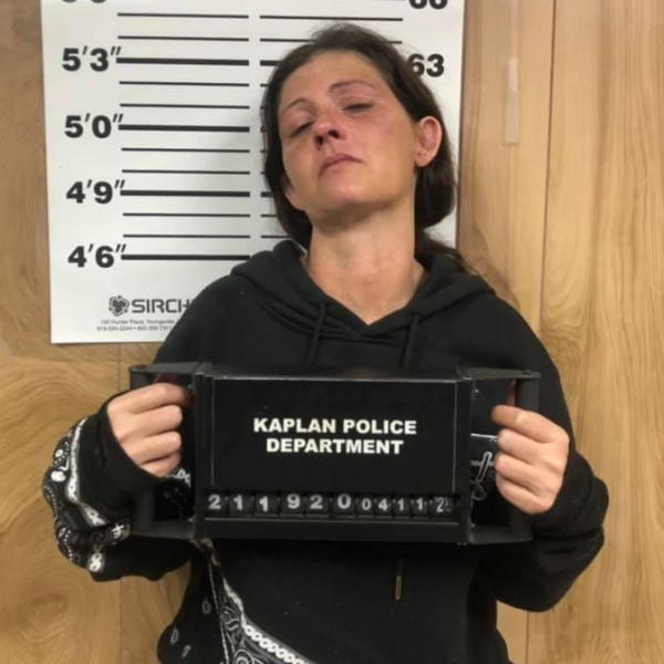 April Leger, Kaplan Police Department