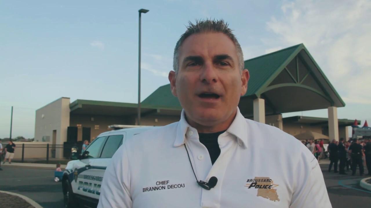 Broussard Police Chief Brannon Decou
