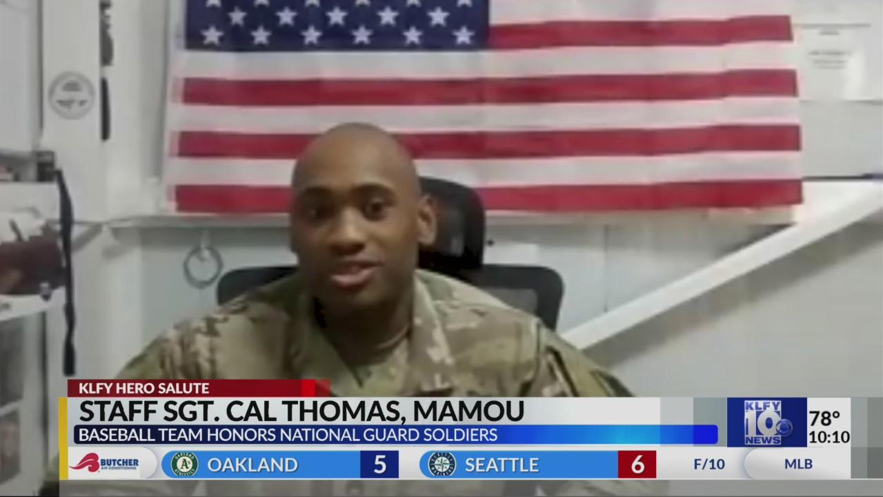 Staff Sgt. Cal Thomas