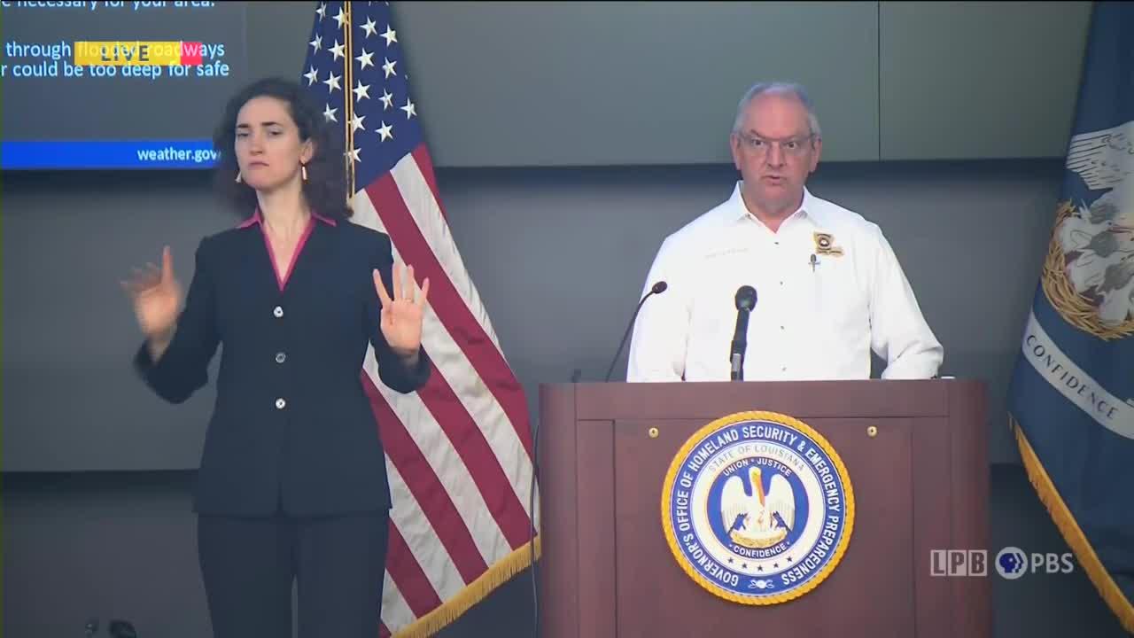 Gov. John Bel Edwards, press conference, 5/18/21