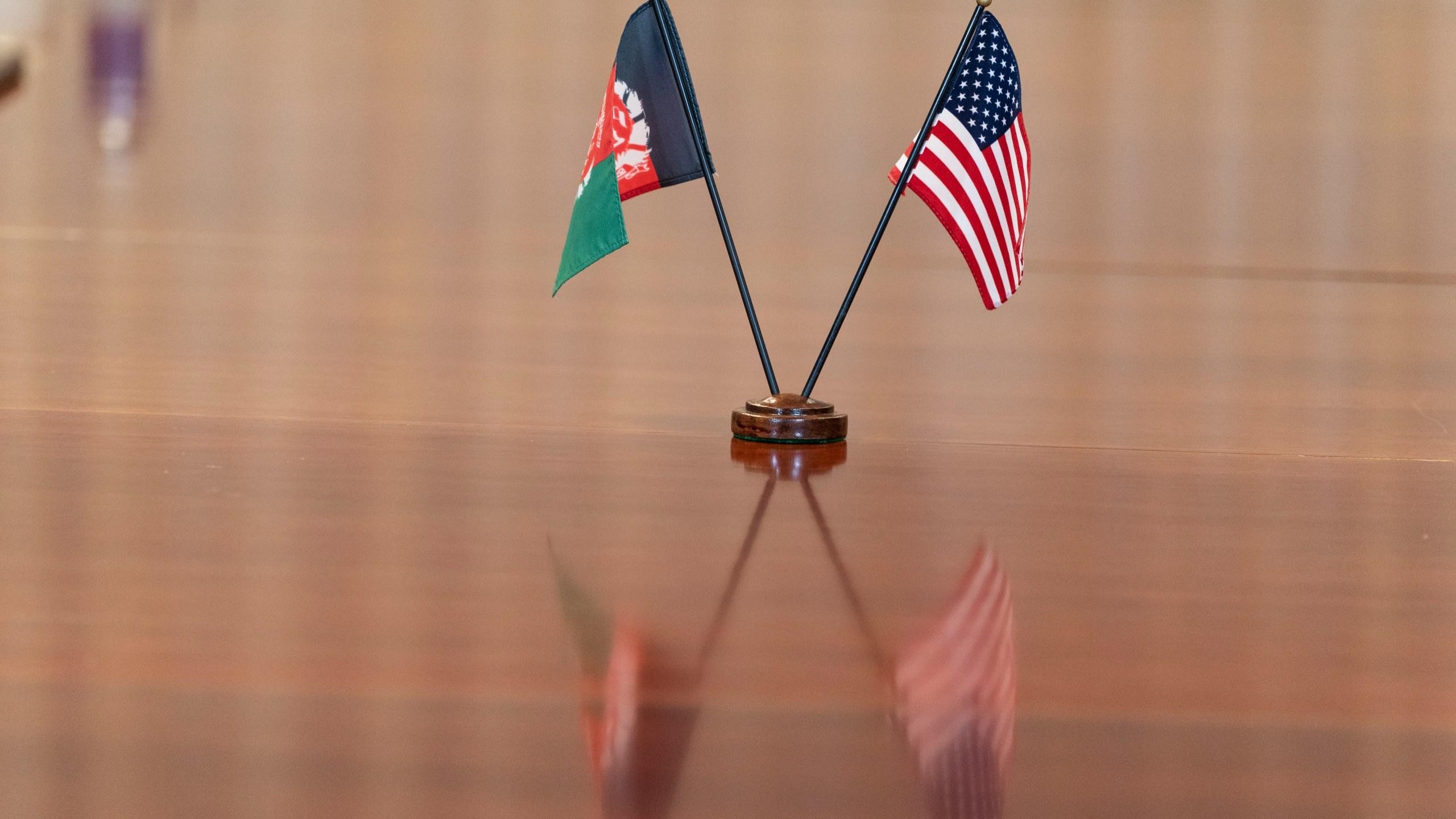 Lloyd Austin, Ashraf Ghani