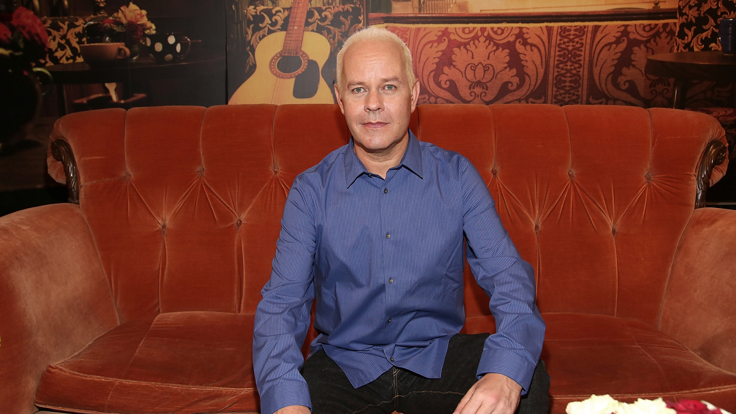 """NEW YORK, NY - SEPTEMBER 16: Actor James Michael Tyler attends the Central Perk Pop-Up Celebrating The 20th Anniversary Of """"Friends"""" on September 16, 2014 in New York City. (Photo by Paul Zimmerman/Getty Images)"""