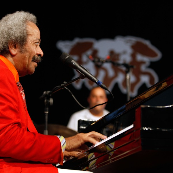 NEW ORLEANS - MAY 01: Allen Toussaint performs at the 2010 New Orleans Jazz & Heritage Festival Presented By Shell at the Fair Grounds Race Course on May 1, 2010 in New Orleans, Louisiana. (Photo by Chris Graythen/Getty Images)