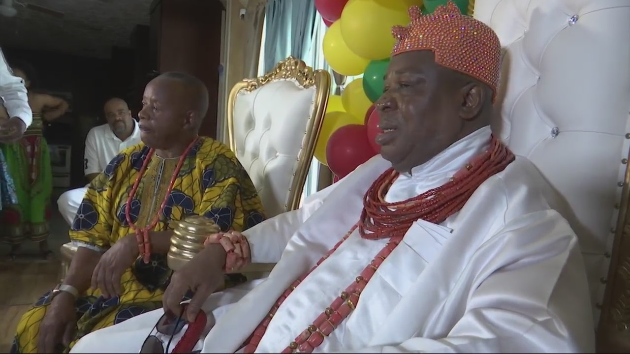 Nigerian king visits Acadiana, reconnecting with 'royal subjects' who have migrated to U.S.