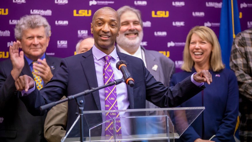 William Tate IV Officially Takes Over as President of LSU