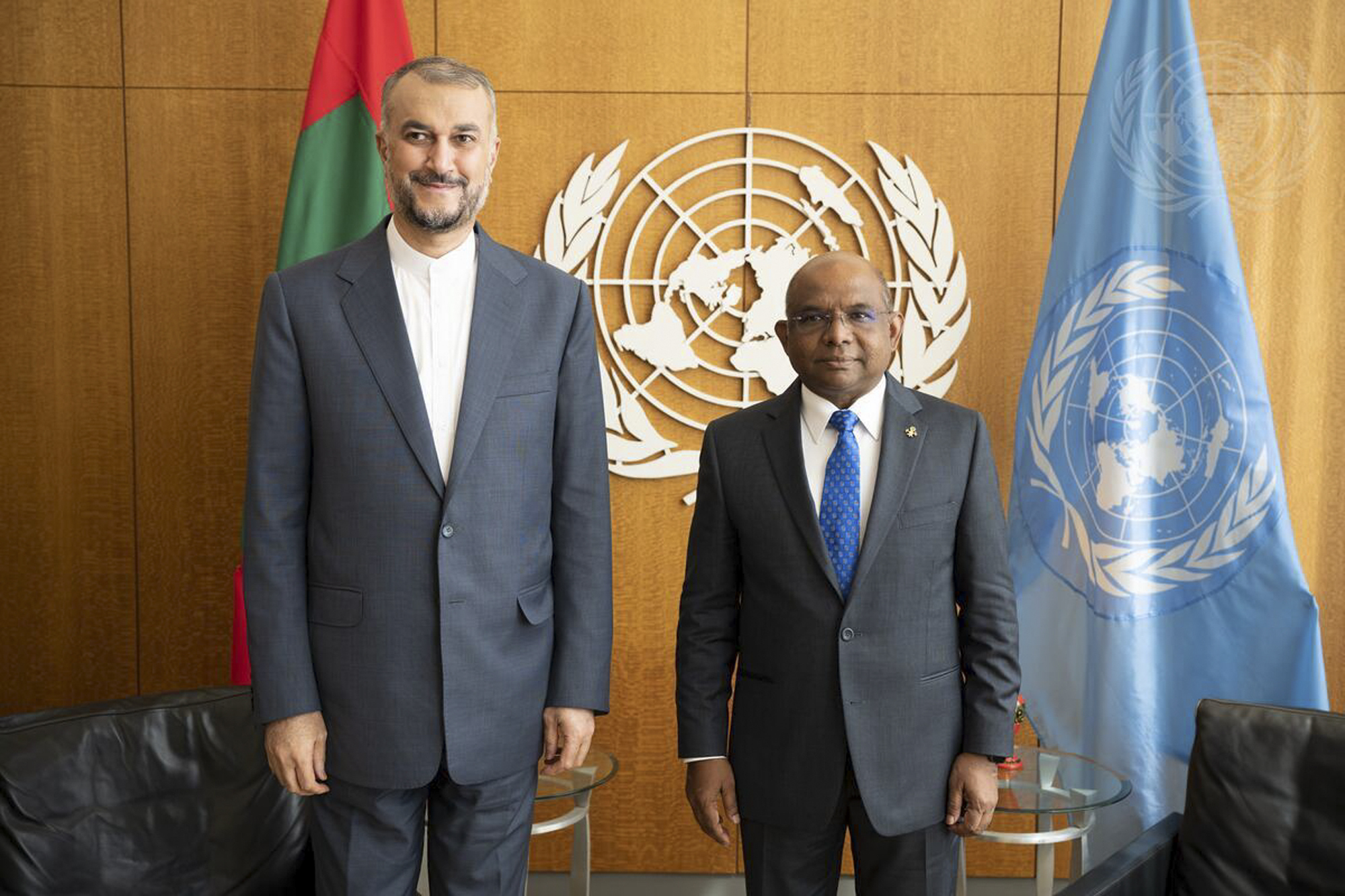 President of General Assembly Meets Foreign Minister of Australia